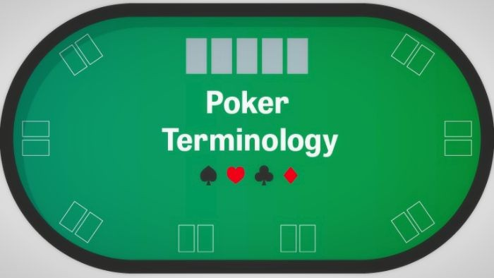 , Poker terms that you should know before starting a card round